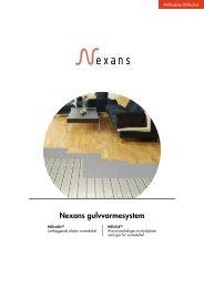 Nexans gulvvarmesystem