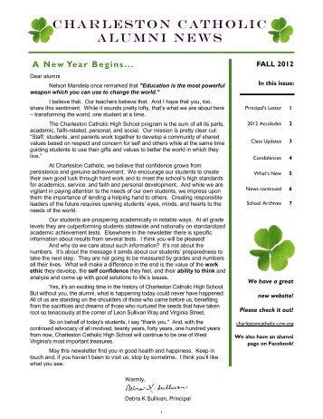 Current Newsletter - Charleston Catholic High School