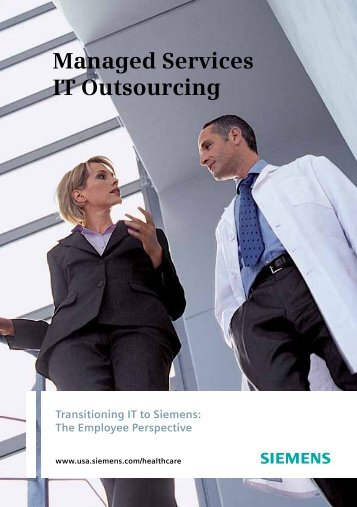 Managed Services IT Outsourcing - Siemens Healthcare