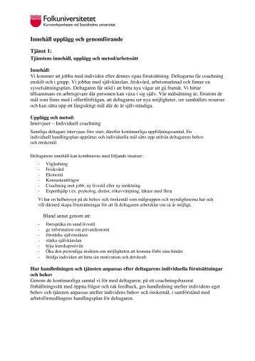 Läs mer om Rehabilitering i Visby (pdf) - Folkuniversitetet