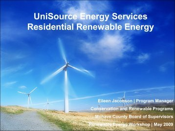 UniSource Energy Services Residential ... - Mohave County