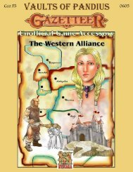 Gaz F5 The Western Alliance - Vaults of Pandius