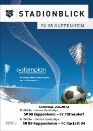 Stadionblick Ausgabe 15 - SV 08 Kuppenheim