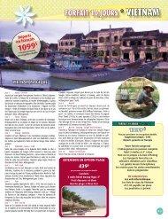 FORFAIT 10 JOURS * VIETNAM - Voyages Cassis