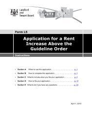 L5 Instructions - Landlord Tenant Board