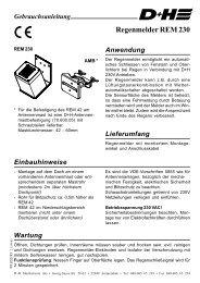 REM 230 - D+H Mechatronic