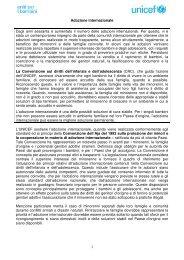 Scarica la scheda completa su Adozione internazionale - Unicef