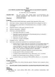 10 th meeting of the Council - Centrum pro výzkum toxických látek v ...