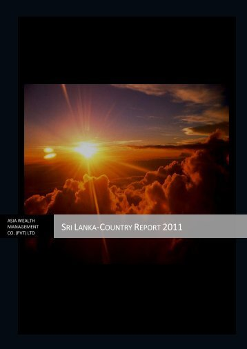 Sri Lanka-Country Report 2011 - Asia Securities|Broker Firms