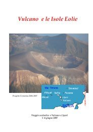 Vulcano e le Isole Eolie