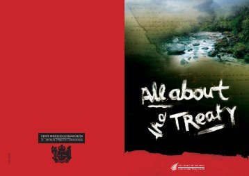 All about the Treaty - NZHistory.net.nz