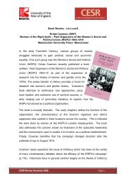 Women of the Right Spirit - University of the West of England