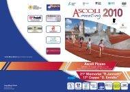 Programma doc - ASA Ascoli