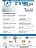 2nd ISPRES CONGRESS 7-9 June 2013 Berlin, Germany - Page 2