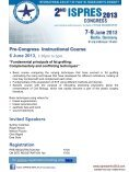 2nd ISPRES CONGRESS 7-9 June 2013 Berlin, Germany - Page 5