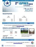 2nd ISPRES CONGRESS 7-9 June 2013 Berlin, Germany - Page 6