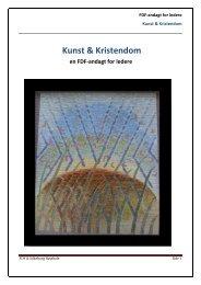 Kunst & Kristendom - Lederen - FDF