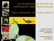 Mediterranean Plant Collections: The computerised way ... - Gbif.es