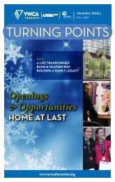 TURNING POINTS - YWCA Toronto