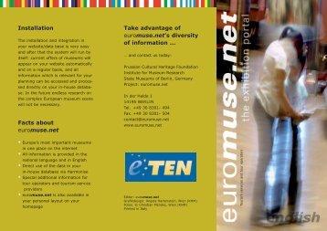 tourism leaflet - DIN lang - ENGLISH (PDF) - Euromuse.net