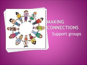 Facilitating the Making Connections Groups - BC Women's Hospital ...