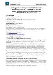 N_AKA6 tematika 2006.pdf - Széchenyi István Egyetem