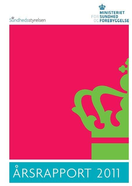 ÅRSRAPPORT 2011 - Sundhedsstyrelsen