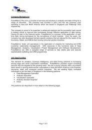 PulseMetrics Pte Ltd - Spms