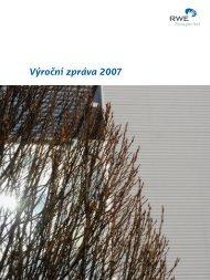 Výroční zpráva 2007 - Net4Gas