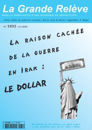N° 1032- mai 2003 - Association pour l'Économie Distributive