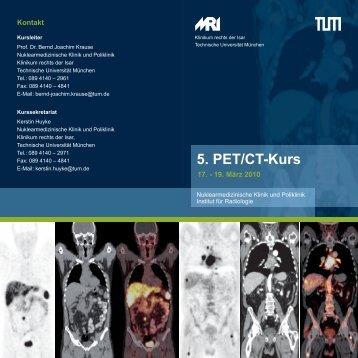 5. PET/CT-Kurs