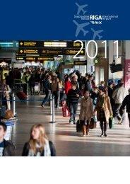 Gadagrāmata 2011: Lejuplādēt - Riga International Airport