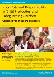Your Role and Responsibility in Child Protection and Safeguarding ...