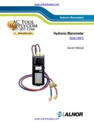 TSI HM670 Manual - Actoolsupply.com