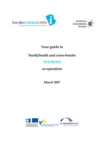 Your guide to North/South and cross-border TOURISM co-operation