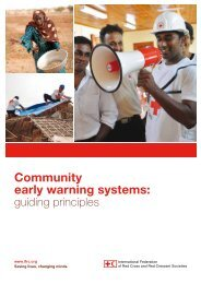 Community early warning systems: - International Federation of Red ...