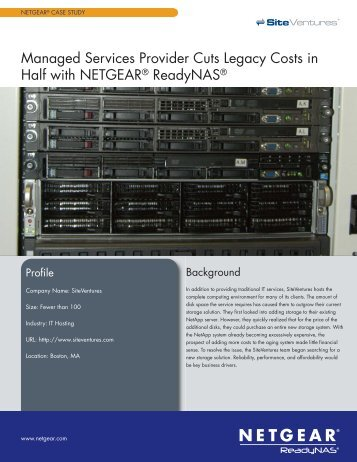Read Success Story (PDF) - Netgear