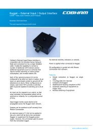 Nugget – External Input / Output Interface
