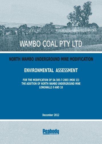 Text - Environmental Assessment - Peabody Energy