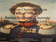 Präsentation - Lehrstuhl für Internationale Politik und Außenpolitik ...