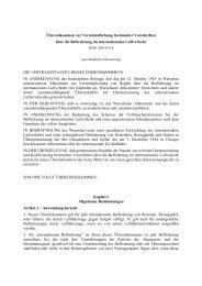 Übereinkommen vom 28.05.1999 zur Vereinheitlichung bestimmter ...