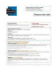 preparez_votre_visit.. - Musée départemental Arles antique
