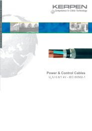 KERPEN Power and Control Cables Catalogue