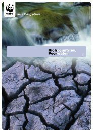 Rich countries, poor water - WWF UK