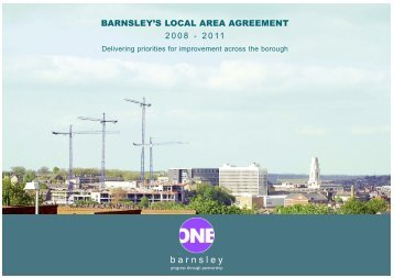 BMBC 21: Barnsleys Local Area Agreement 2008-2011