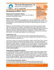 Developing an ORCS - Part 3