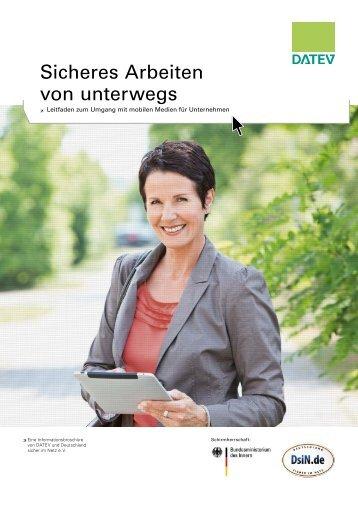 Sicheres Arbeiten von unterwegs - Deutschland sicher im Netz