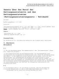 Rettungsassistentengesetz - DRK-Kreisverband Siegen-Wittgenstein
