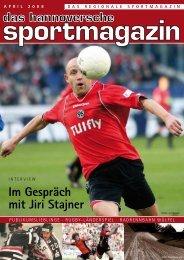 Im Gespräch mit Jiri Stajner - das hannoversche sportmagazin