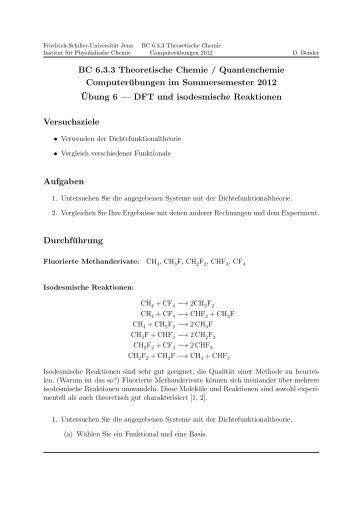 Versuch 06 - Friedrich-Schiller-Universität Jena